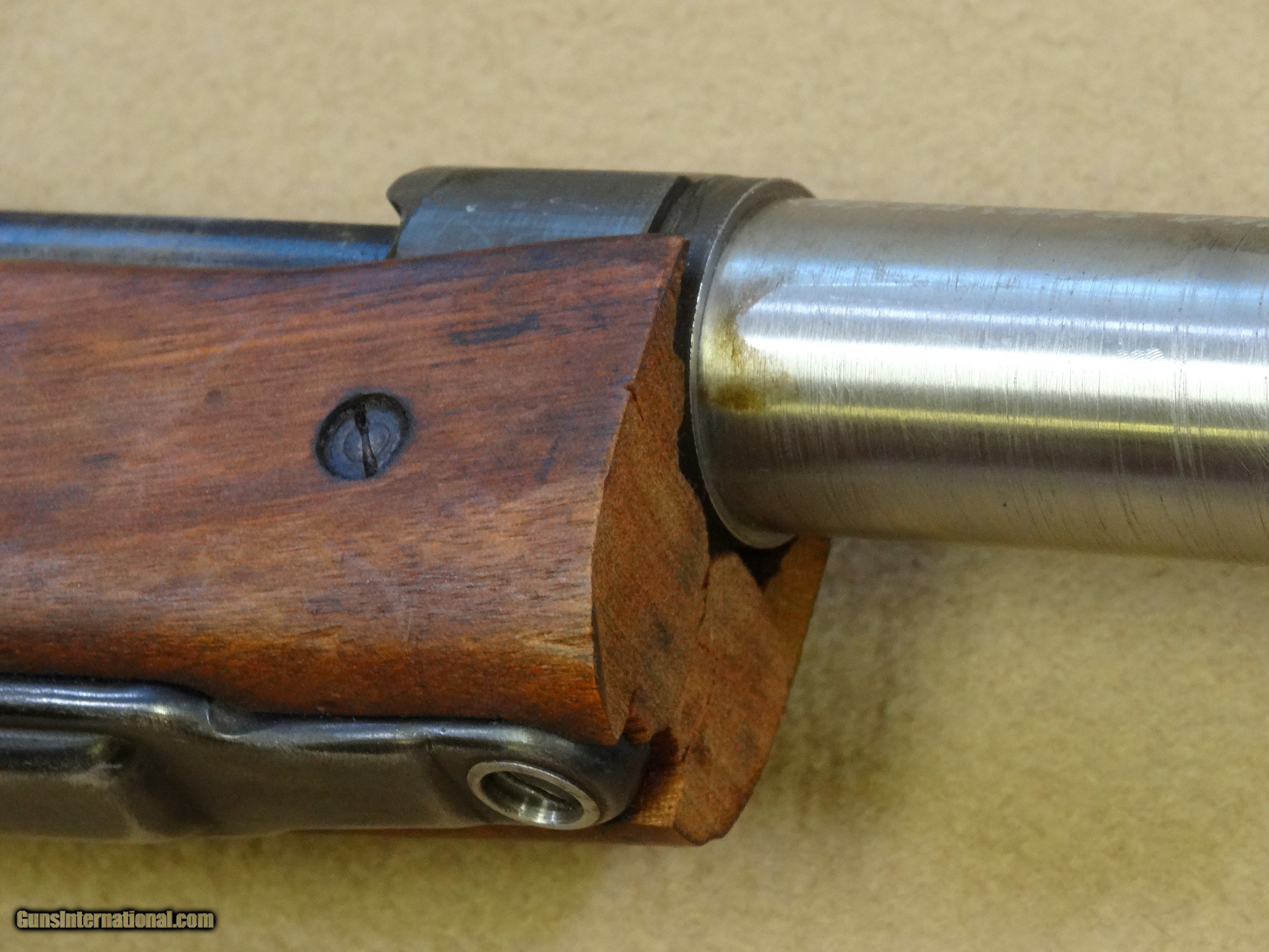 ... U.S. Remington Model 1903A3 Mann Accuracy Device Barreled Action in .30  Carbine - 20 of ...