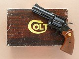 Colt Diamondback, Cal. .38 Special, 4 Inch Barrel, Blue Finished, with Box