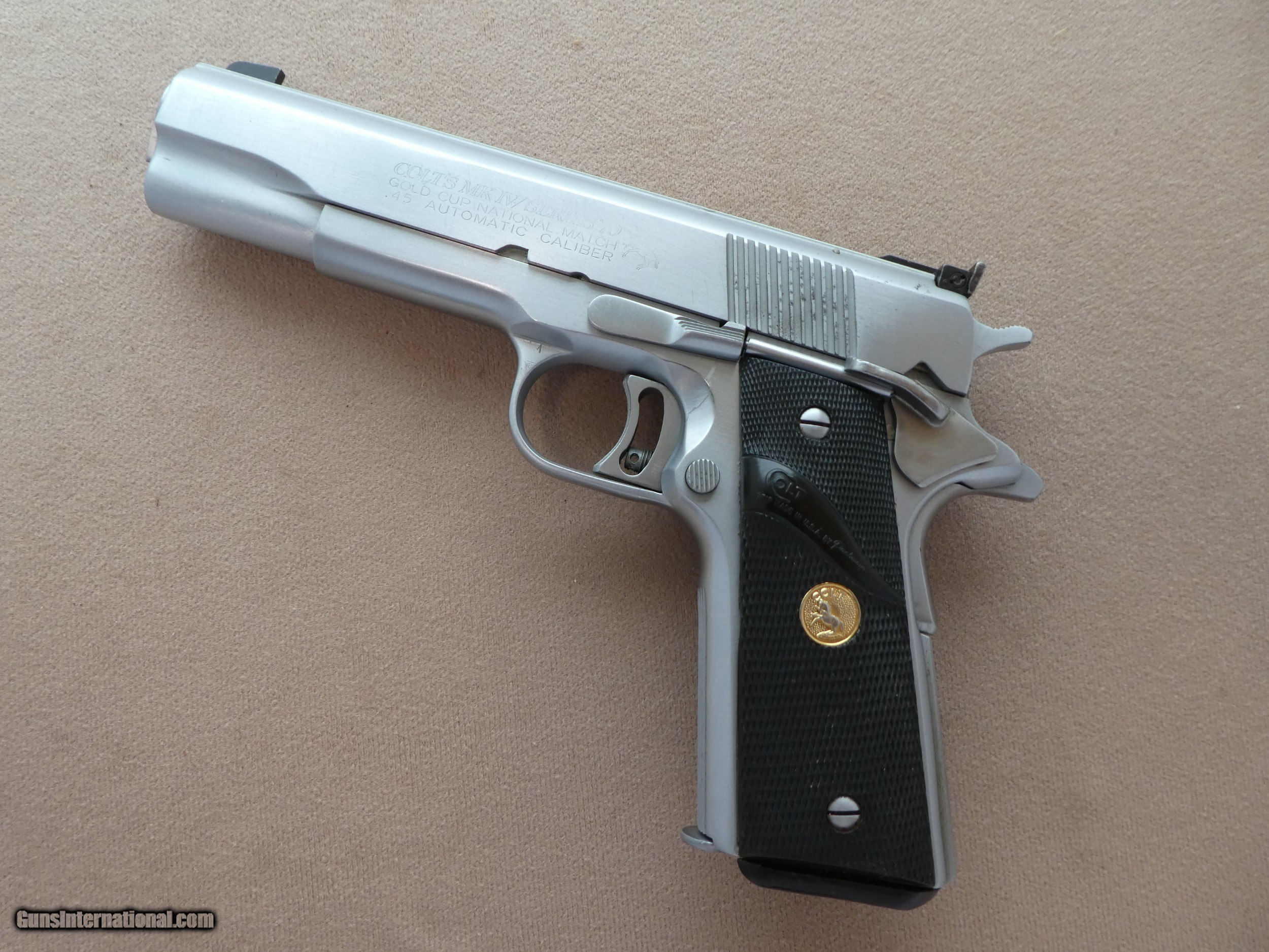 Custom Colt 1911 Gold Cup National Match 70 Series Reduced