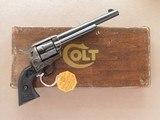 Colt Single Action Army, 2nd Generation, Cal. .357 Magnum, 1971 Vintage