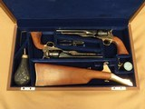Colt1860's, United States Cavalry Commemorative Set, 1777 to 1977, .44 Cal. Percussion, 3000 Sets Made