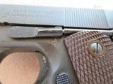 Colt 1911A1 45 A.C.P. All Matching U.S. Property WW2 **MFG. 1943** - 9 of 25