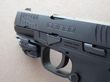 Walther Creed 9mm Pistol w/ Crimson Trace Rail Master Red Laser** Mint Like-New w/ Box ** - 20 of 21