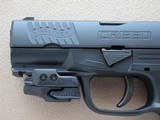 Walther Creed 9mm Pistol w/ Crimson Trace Rail Master Red Laser** Mint Like-New w/ Box ** - 4 of 21