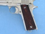 Colt 1911 Government Commercial 45 A.C.P. Nickel **MFG. 1917** - 3 of 19