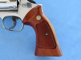 "Smith & Wesson Model 19-3 .357 Magnum Nickel 4"" Barrel **MFG. 1978** - 5 of 20"