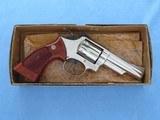 "Smith & Wesson Model 19-3 .357 Magnum Nickel 4"" Barrel **MFG. 1978** - 2 of 20"
