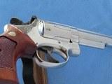 "Smith & Wesson Model 19-3 .357 Magnum Nickel 4"" Barrel **MFG. 1978** - 16 of 20"