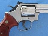 "Smith & Wesson Model 19-3 .357 Magnum Nickel 4"" Barrel **MFG. 1978** - 9 of 20"