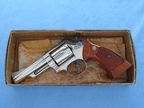 "Smith & Wesson Model 19-3 .357 Magnum Nickel 4"" Barrel **MFG. 1978** - 3 of 20"