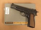Browning Hi-Power, Cal. 9mm, Adjustable Rear Sight