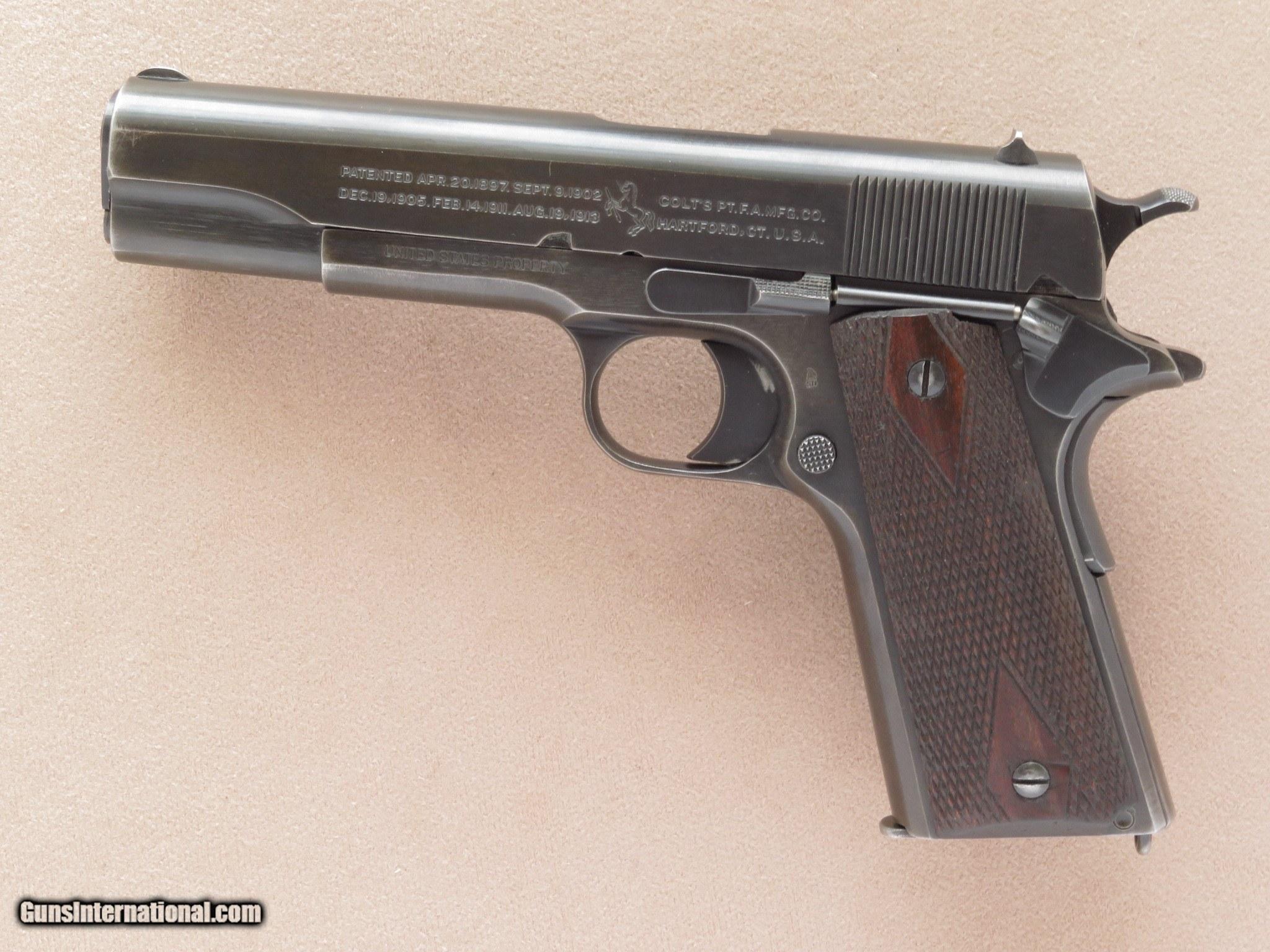 Colt (Model of 1911 U.S.ARMY) 1918 vintage for sale