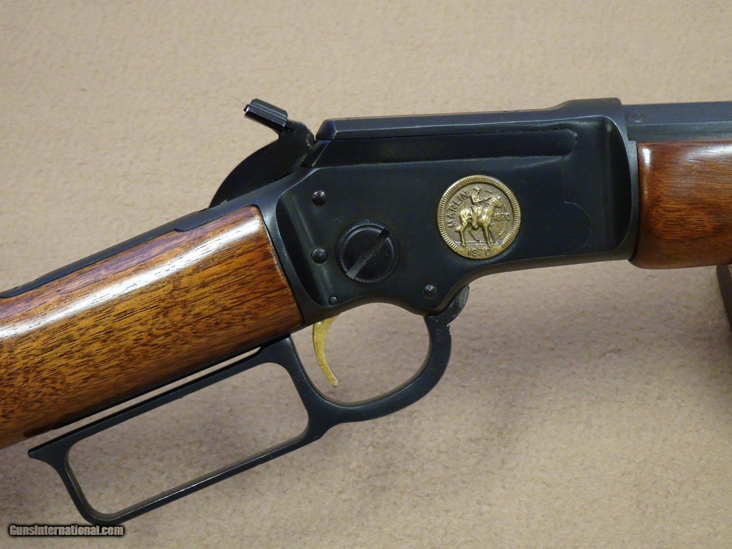 1970 Marlin Model 39 Century Ltd 22 Rimfire Lever Action Rifle Parts Diagram On