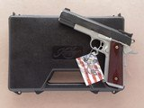Kimber Super Match, Cal. ,45 ACP, New with Factory Test Target
