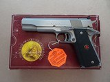 1990 Colt Delta Gold Cup National Match in 10mm Caliber w/ Original Box & Paperwork, Etc.** Rare Unfired & Mint Gun! ** SOLD
