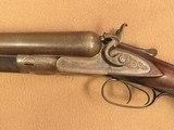 Colt 1878 10 Gauge Double Barrel Hammer Shotgun, Grade 8, 32 Damascus Barrel, 1881 Vintage - 7 of 18