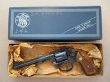 Smith & Wesson Model 35-1 .22 L.R. MFG. 1972 **.22/32 Target Model of 1953 Kit Gun **