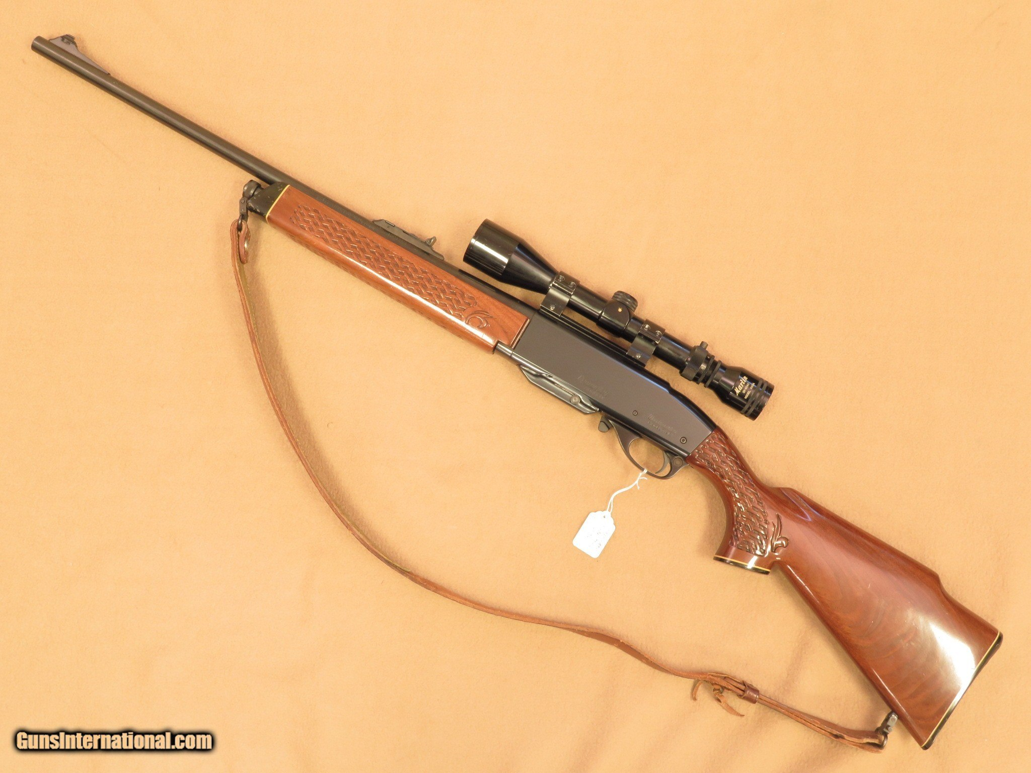 1976 Remington Model 742BDL Deluxe - Factory Left Handed in