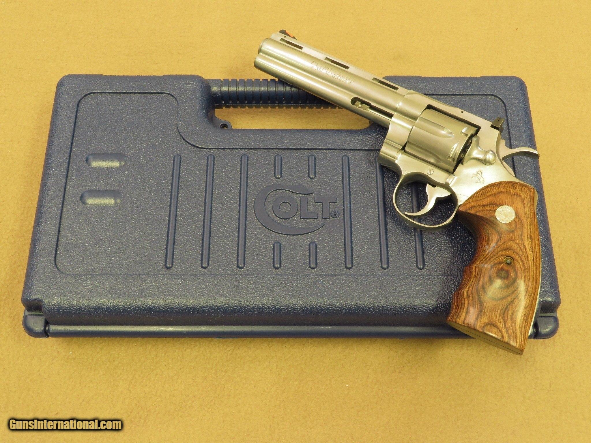 Colt Python Elite, Stainless, Cal   357 Magnum, 6 Inch Barrel
