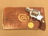"Colt "" Lawman "", 2 Inch Barrel, Nickel Finished, Cal. .357 Magnum SOLD"
