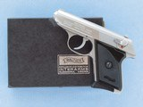 Walther TPH Stainless Steel, American Model, Cal. .22 LR