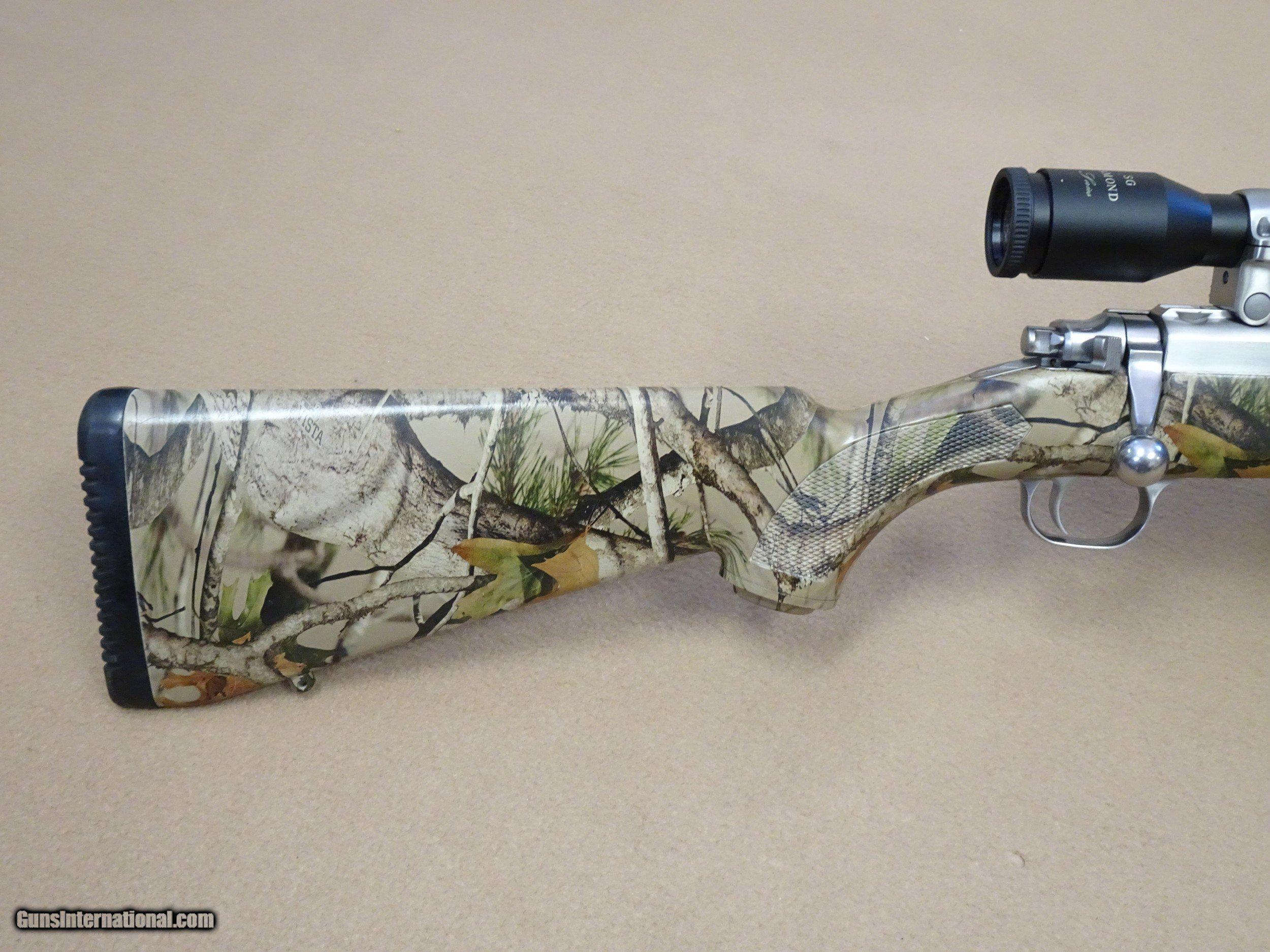 ... Ruger Model 77/44 .44 Magnum Stainless Carbine w/ Scope & Original Box  ...