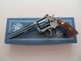 """Smith & Wesson Model 17-2 .22 L.R. Blue 6"""" Barrel **MFG. 1966 w/ Box** SOLD"""