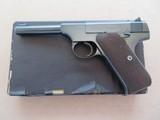 Pre War Colt Sport Woodsman .22 L.R. **MFG. 1941 w/ Original Box & Papers** SOLD