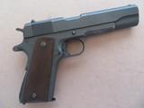 U.S. Remington Rand 1911A1 .45 A.C.P. ** Anniston Arsenal Rework MFG. 1943** SOLD