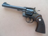 Colt Officer's Model Target (Third Issue) Heavy Barrel ,38 Special ** MFG. 1965 ** SOLD