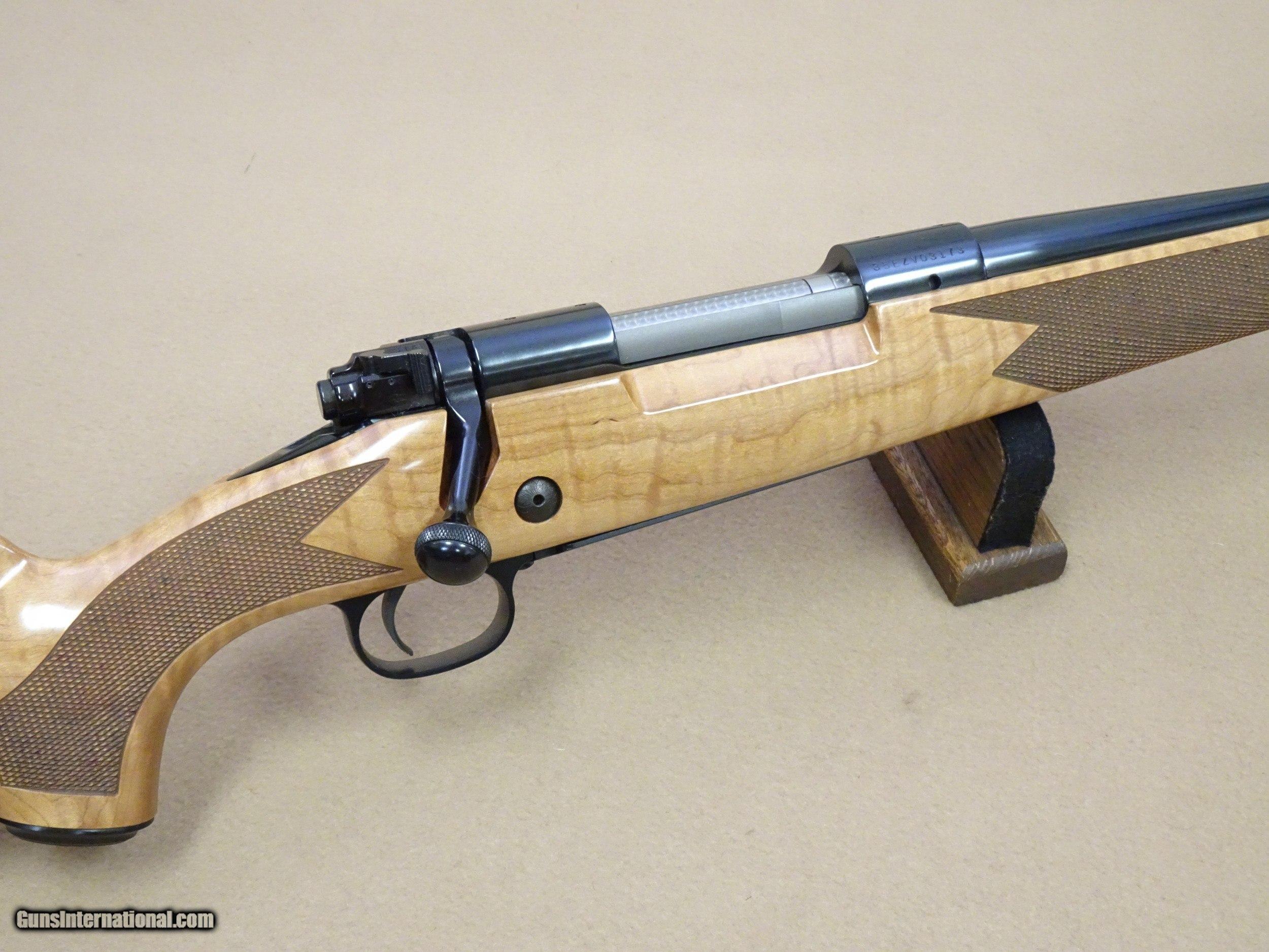 Winchester Model 70 Super Grade Deluxe Maple Stock in  270
