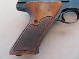 Colt Match Target Woodsman 3rd Model Mfg. 1968 **Very Clean** - 6 of 17