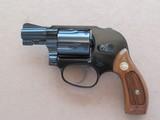 "Smith & Wesson Model 38 Bodyguard Airweight .38 Special blue 2"" Barrel **MFG. 1981 w/ Pinned Barrel** SOLD"