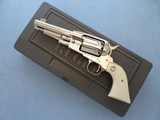 "2003 Ruger Old Army in Gloss Stainless w/ 5.5"" Barrel & Fixed Sights with Original Box
