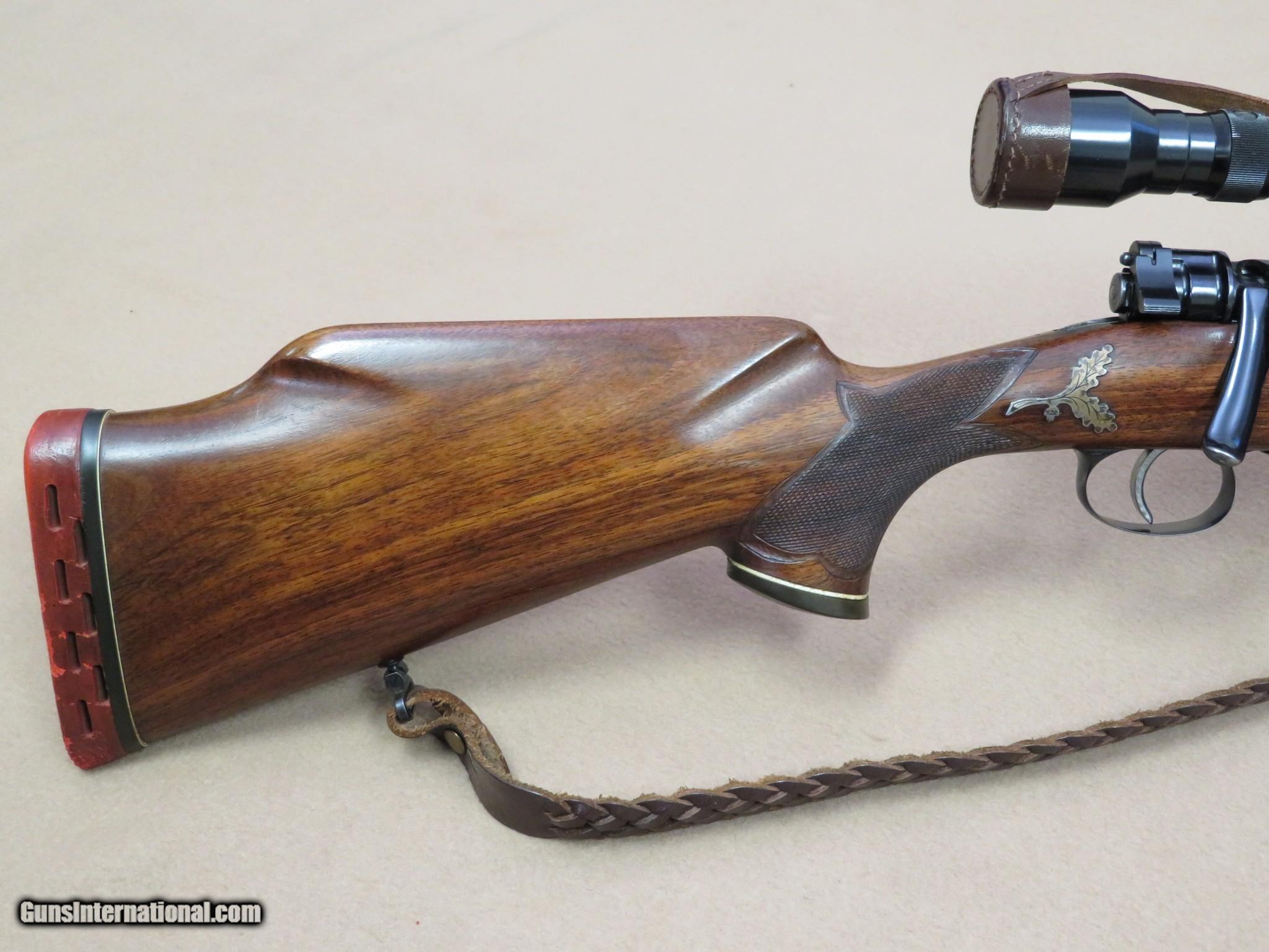 Spectacular Custom 98 Mauser Sporter w/ Hensoldt Dialytan 4X Scope