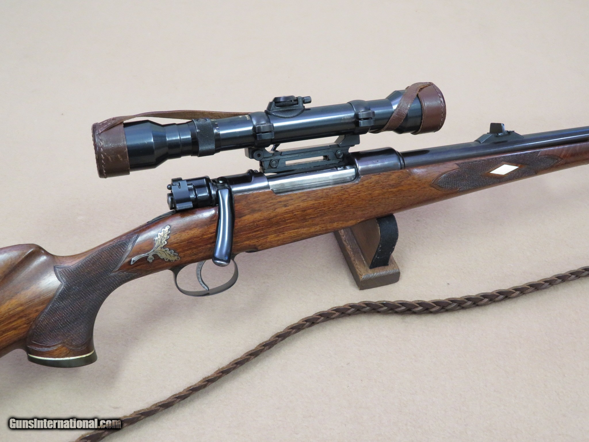 Spectacular Custom 98 Mauser Sporter w/ Hensoldt Dialytan 4X Scope
