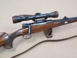 Spectacular Custom 98 Mauser Sporter w/ Hensoldt Dialytan 4X Scope on Side Rail Mount w/ Walnut Case & Provenance Letter** Classy Sporter! **