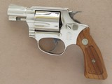 Smith & Wesson Model 37 Airweight, Nickel Finished, Cal. .38 Special