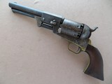 Early Colt Third Model Dragoon .44 Revolver **U.S. marked W/ complete cylinder scene **