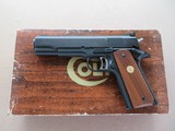 1977 Colt Mk IV Series 70 Gold Cup National Match .45 1911 Pistol