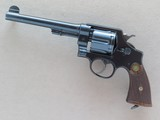 Smith & Wesson .455 Hand Ejector Second Model, Canadian Proof Marked, 1916 Vintage
