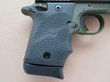 Sig Sauer Model P938 Micro 2-tone Army Green 9mm **LNIB w/ night sights & 3 mags** - 6 of 17
