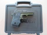 Sig Sauer Model P938 Micro 2-tone Army Green 9mm **LNIB w/ night sights & 3 mags**