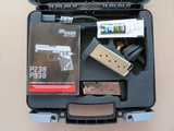 Sig Sauer Model P938 Micro 2-tone Army Green 9mm **LNIB w/ night sights & 3 mags** - 3 of 17
