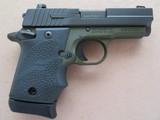 Sig Sauer Model P938 Micro 2-tone Army Green 9mm **LNIB w/ night sights & 3 mags** - 5 of 17