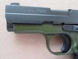 Sig Sauer Model P938 Micro 2-tone Army Green 9mm **LNIB w/ night sights & 3 mags** - 11 of 17