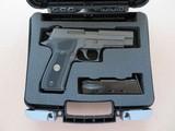 ANIB Sig Sauer Model P226 Legion 9MM **unfired w/ extra case** - 2 of 21