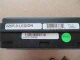 ANIB Sig Sauer Model P226 Legion 9MM **unfired w/ extra case** - 3 of 21