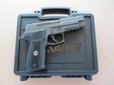 ANIB Sig Sauer Model P226 Legion 9MM **unfired w/ extra case**