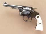 Colt Police Positive Special (First Issue), with Pearl Grips, Cal. .38 Special, 1910 Vintage, 4 Inch Barrel